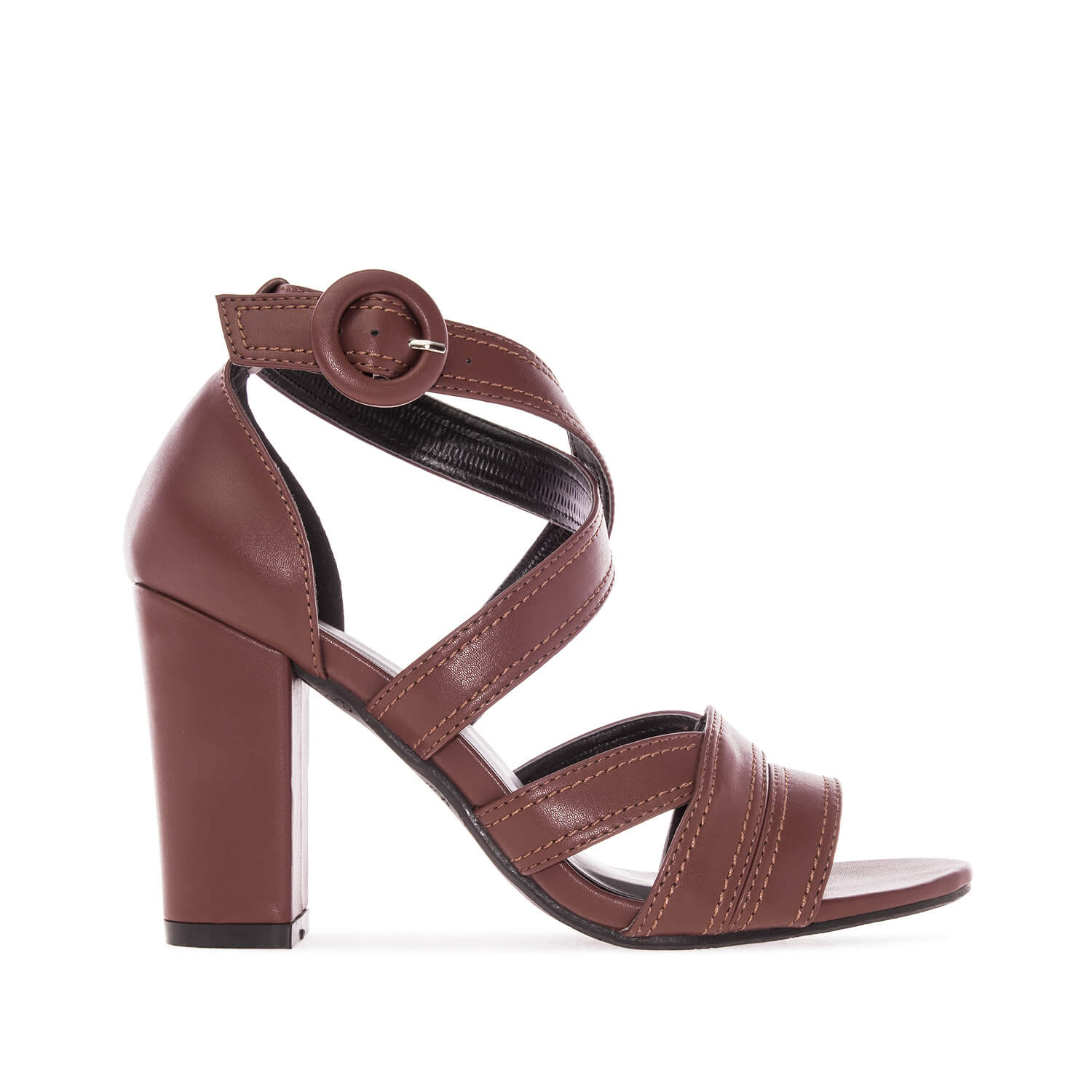 Sandalias en Soft color Marron.