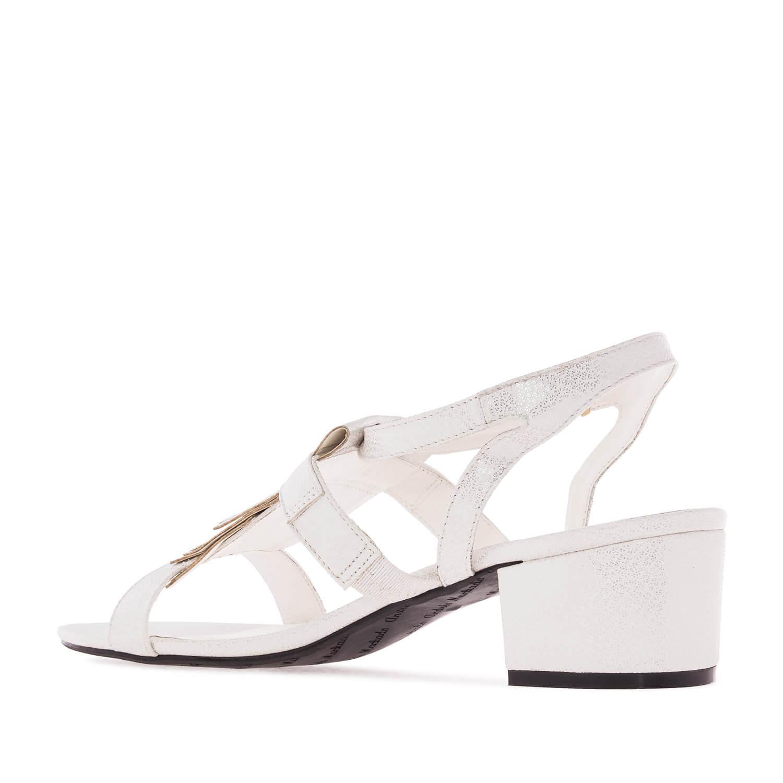 Sandalias Flecos Pull de color Blanco