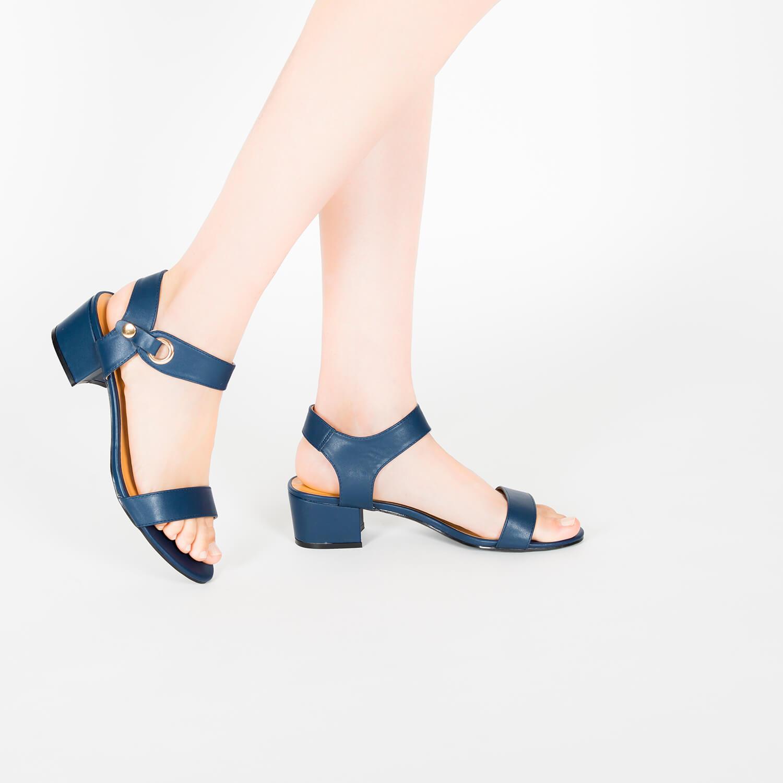 Sandalia en soft de color Marino