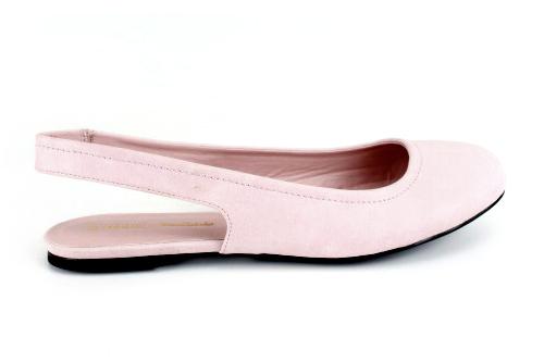 Baletanke sa otvorenom petom, roze