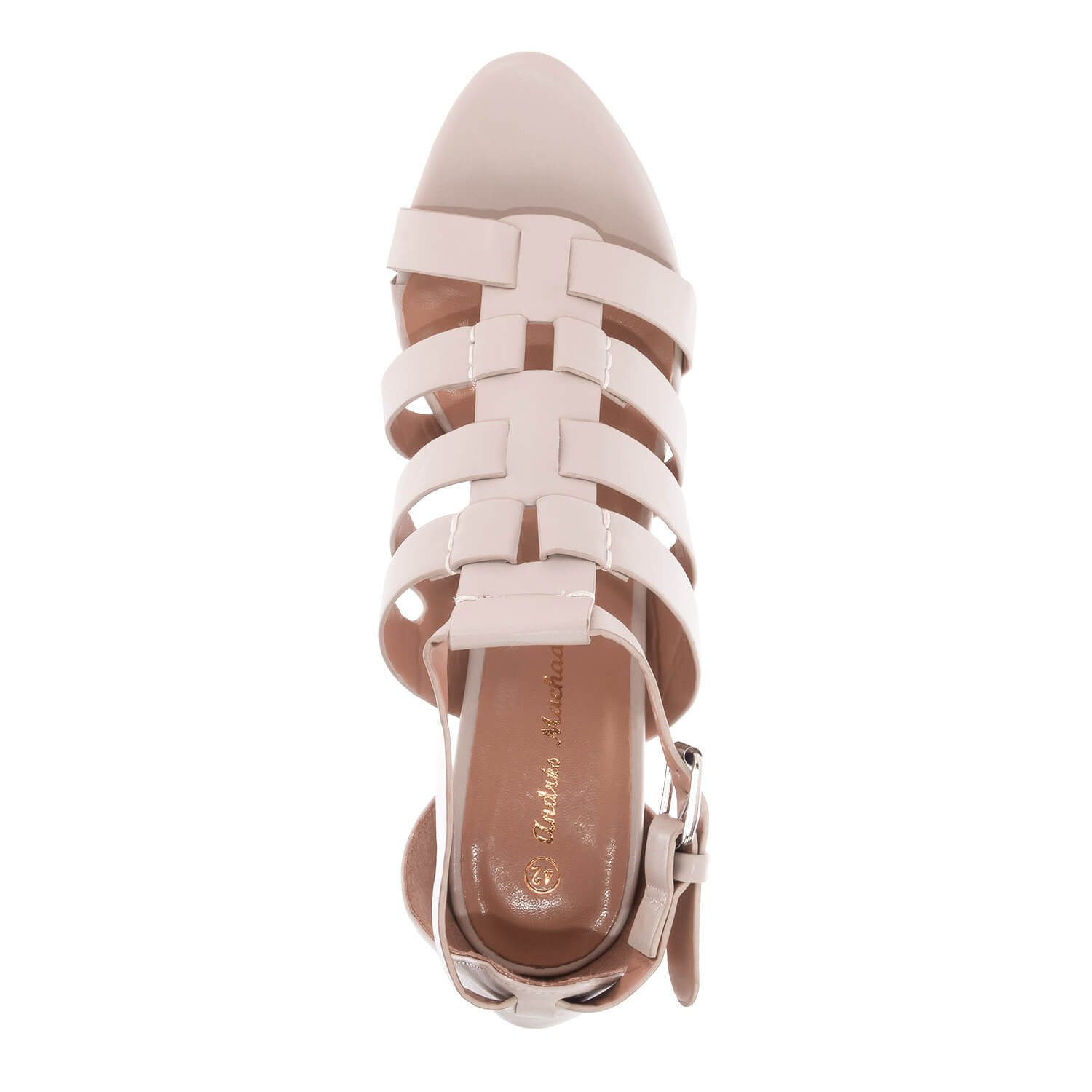 Sandalias Multi tiras en Soft color Beige