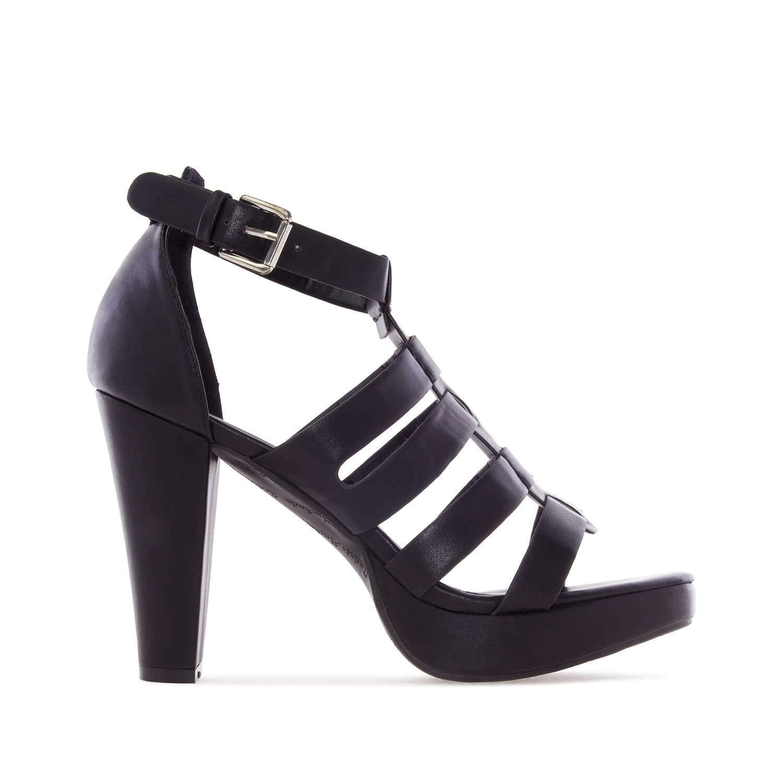 Sandalias en Soft color Negro