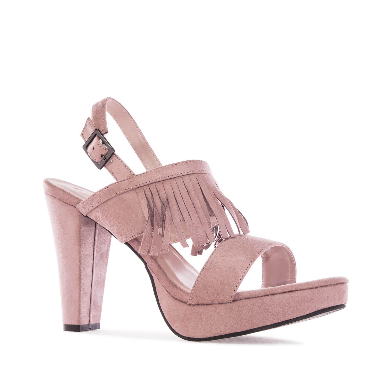 Antilop sandale sa resama, boja pudera