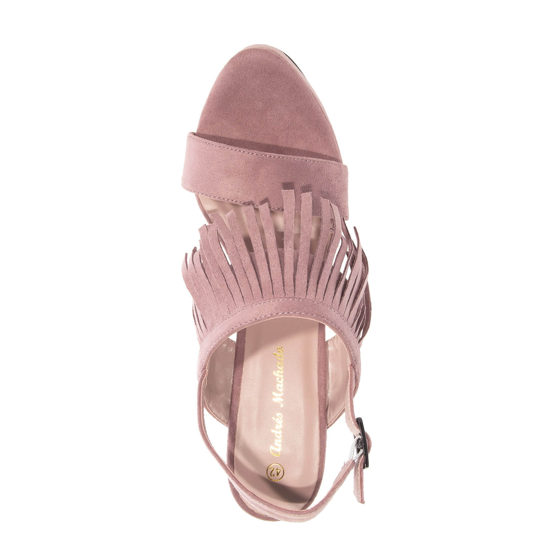 Sandalias Flecos color Maquillaje.