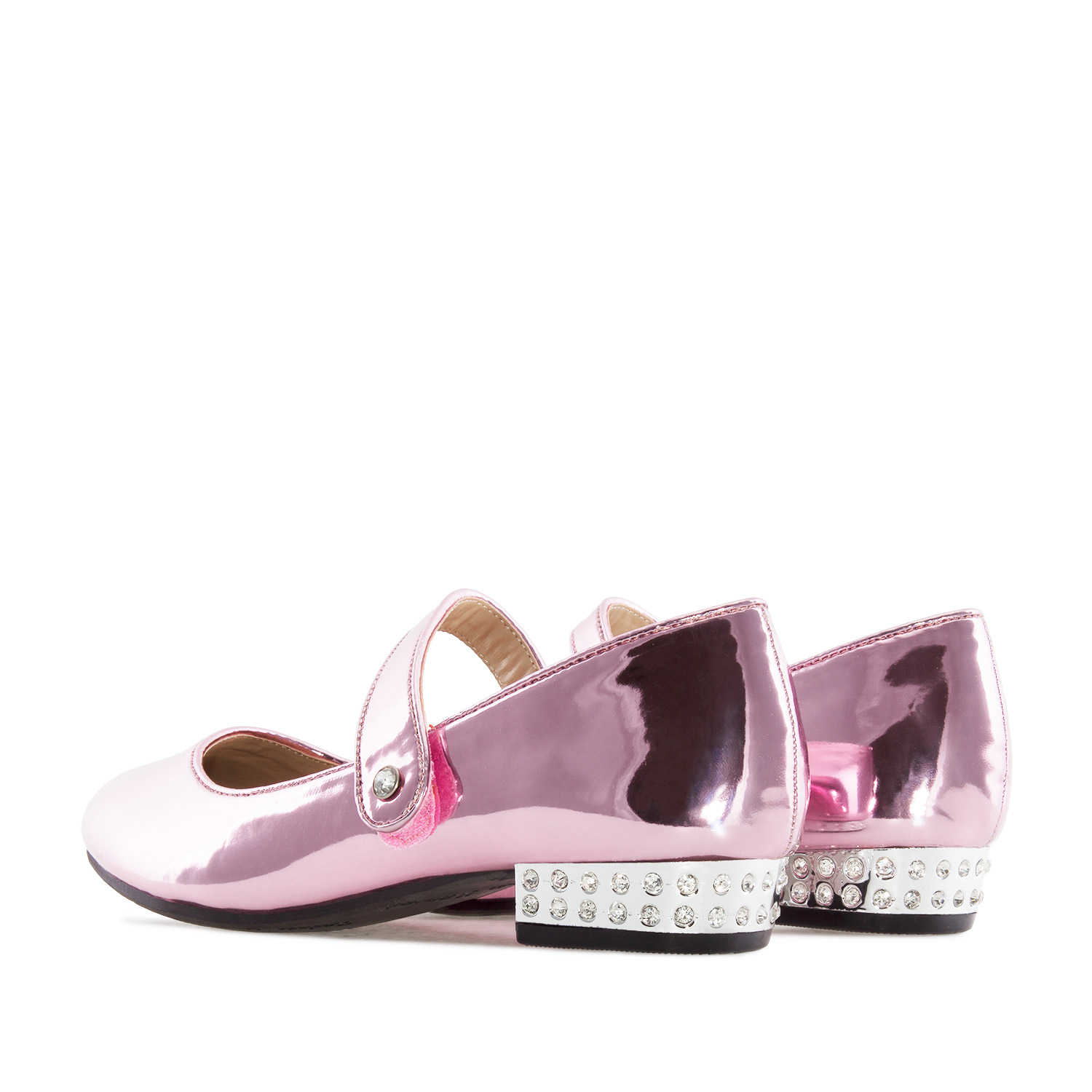 Zapato Mary Jane Niña en charol color Rosa