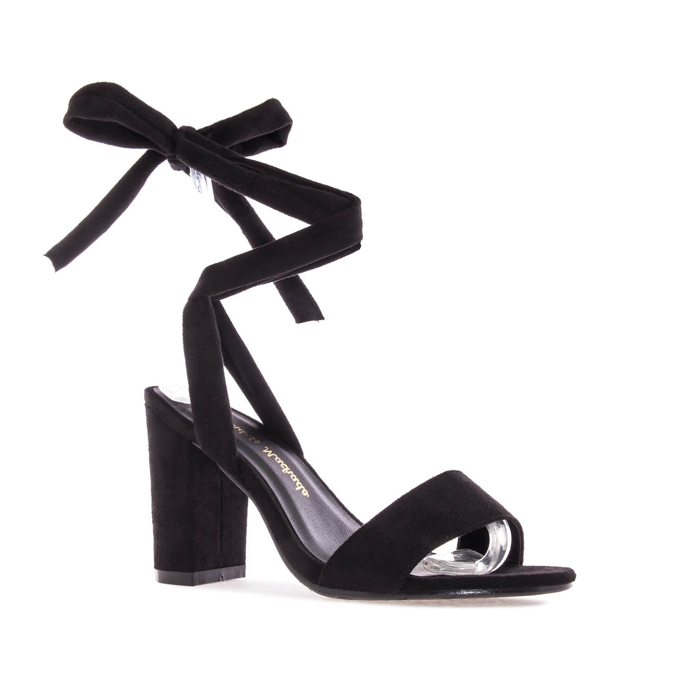 Sandalias en Ante color Negro