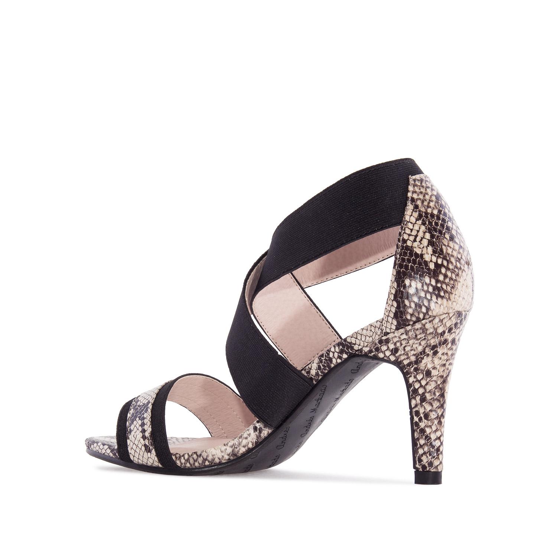 Sandalias de Serpiente con elástico
