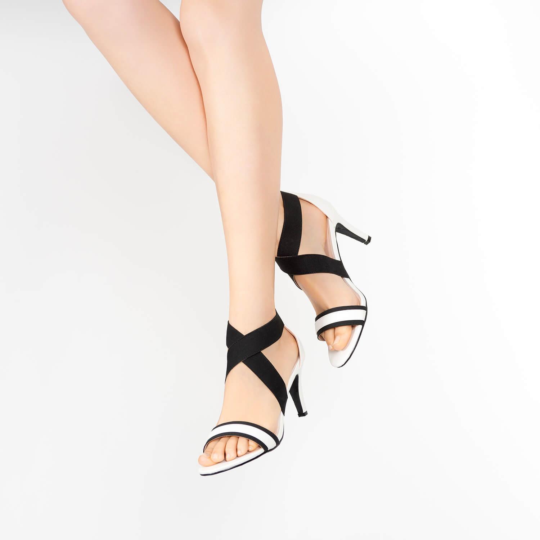 Sandalias en Soft Blanco con elástico