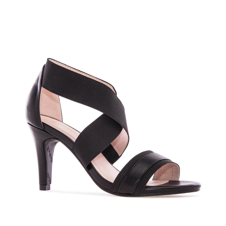 Sandale sa elastičnim trakama, crne