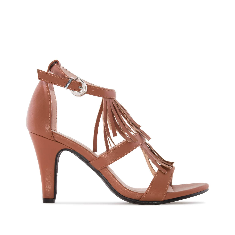 Sandalias Flecos Soft de color Marrón