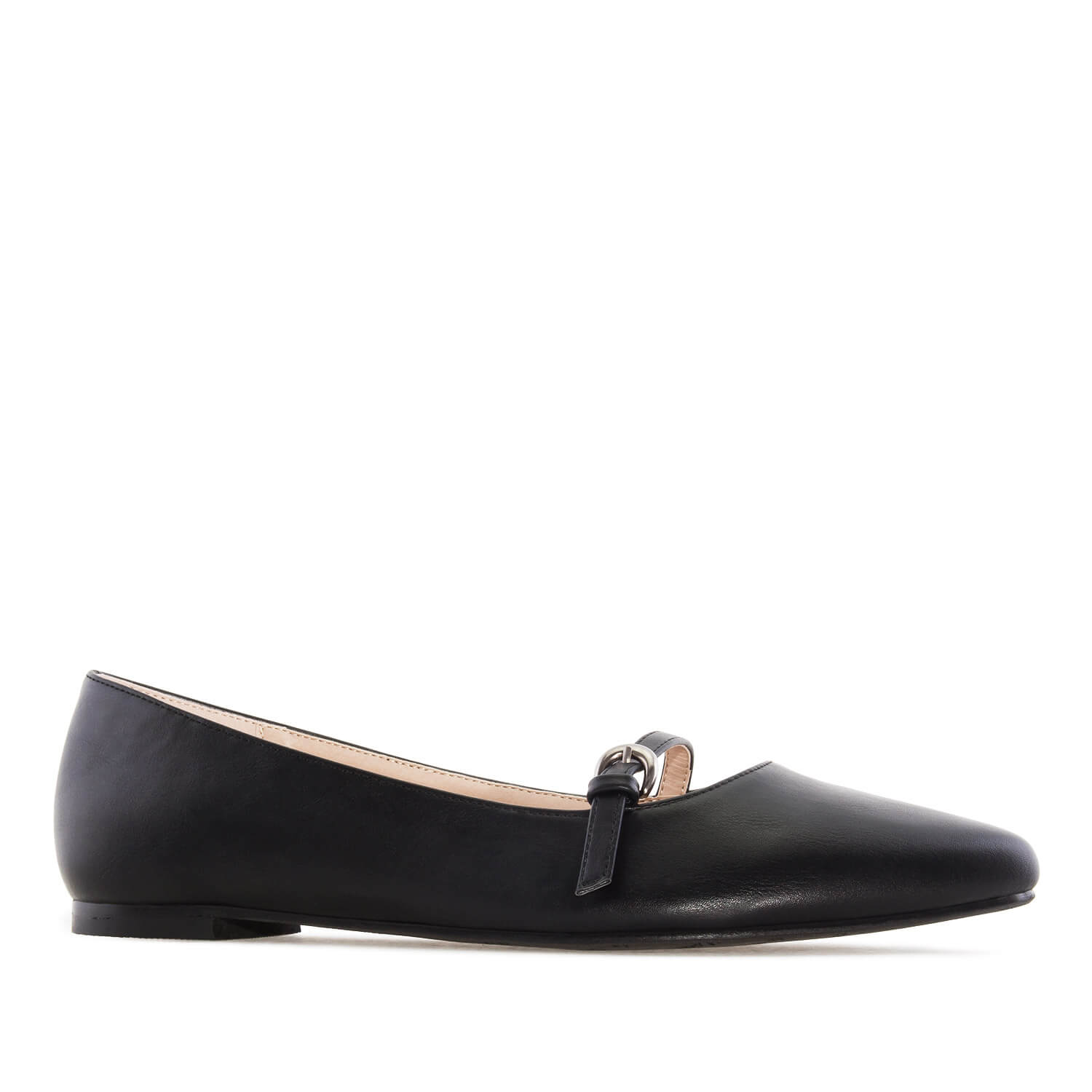 Bailarina Mary Jane en Soft Negro
