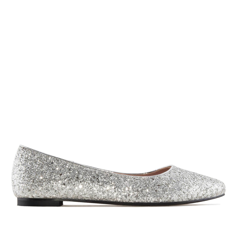 Bailarina Glitter Plata
