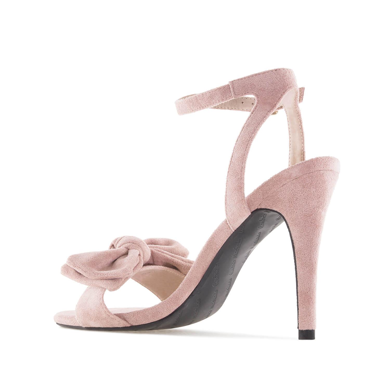 Antilop sandale sa mašnom, puder boja