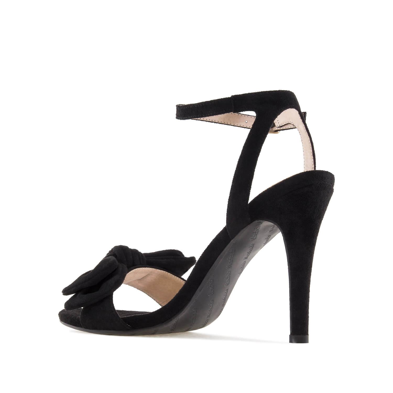 Antilop sandale sa mašnom, crne