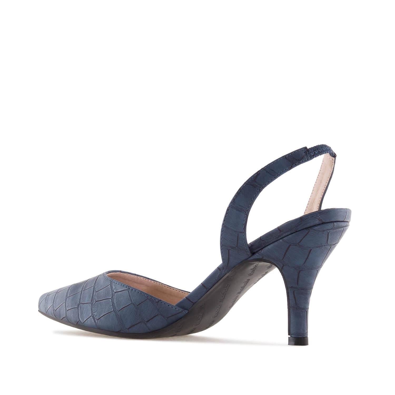 Zapato tacon destalonado Coco Marino