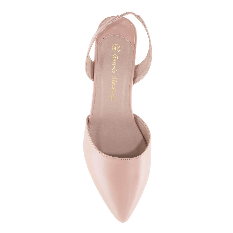 Zapato tacon destalonado Soft Maquillaje