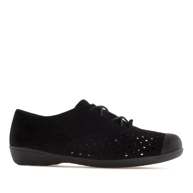 Antilop ravne letnje cipele, crne