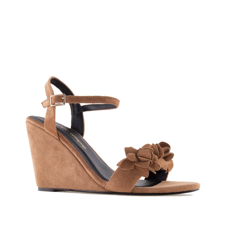 Antilop sandale na platformu, braon