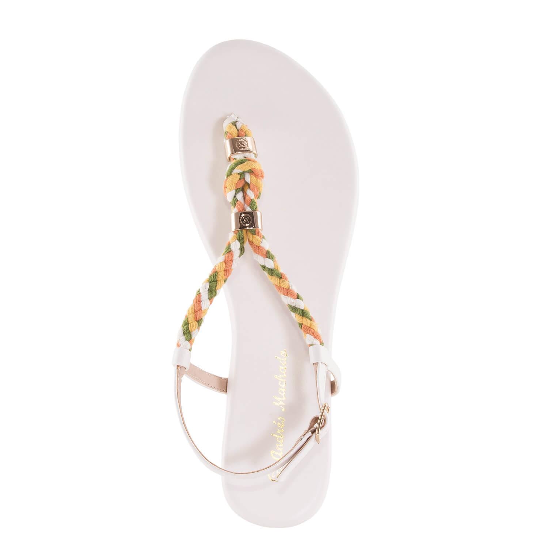 Sandalias cuerda Soft Blanco