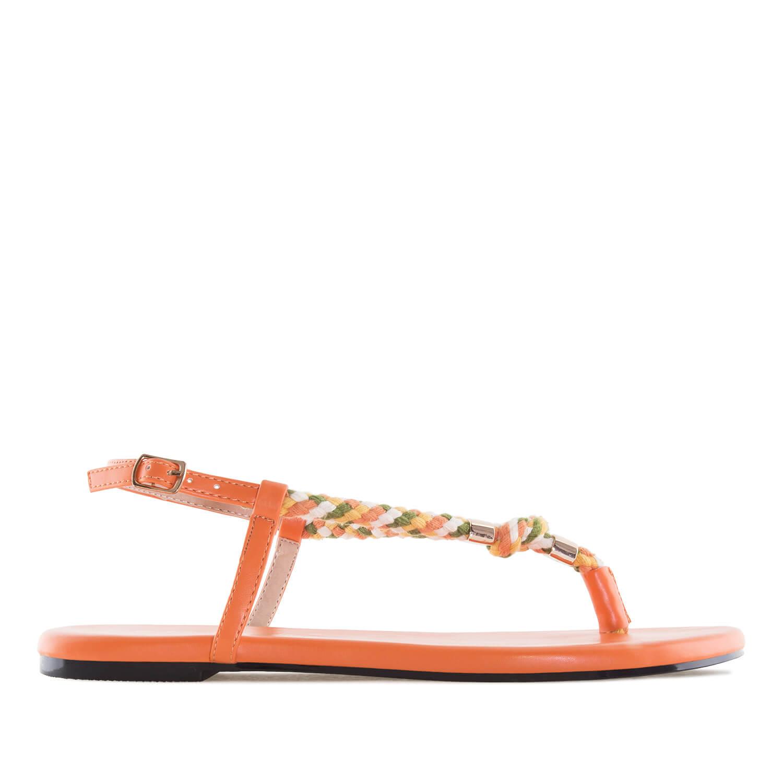 Sandalias cuerda Soft Naranja