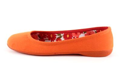 Baletanke od platna, narandžaste