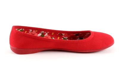 Baletanke od platna, crvene