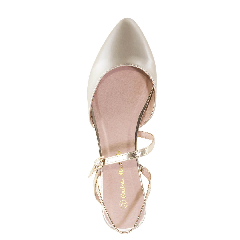 Bailarina Destalonada Soft Oro