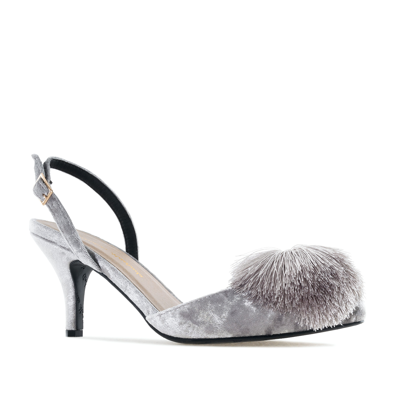 Antilop cipele-baletanke sa biserima, crne