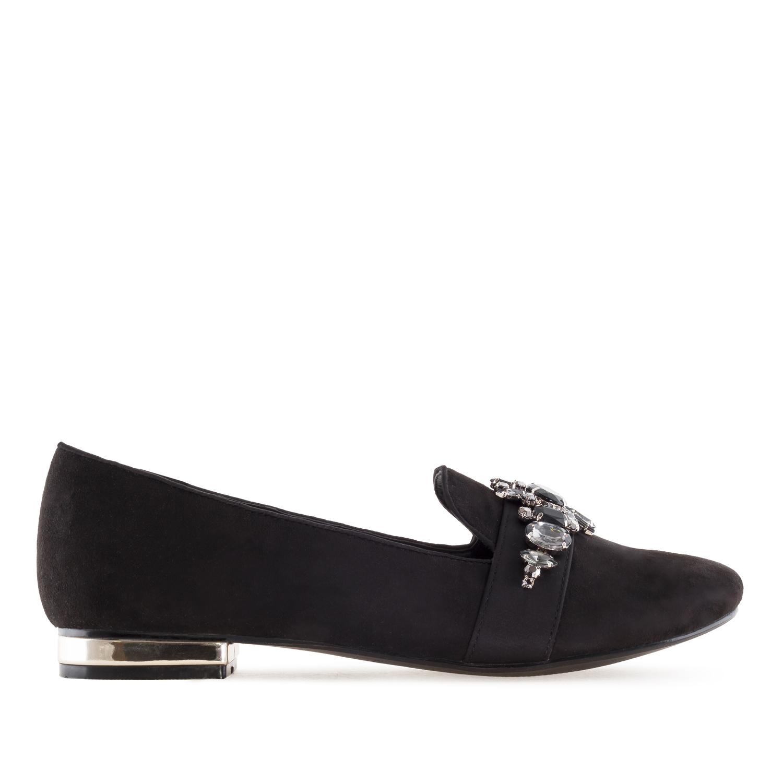 Slippers en Suèdine Noir