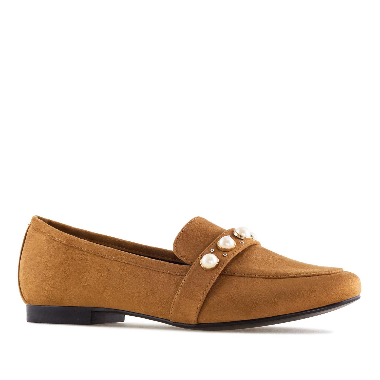 Antilop cipele-baletanke sa biserima, kamel