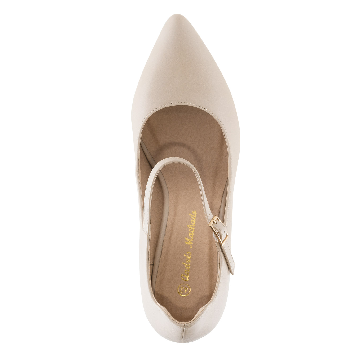 Escarpins Soft Beige Bout Pointu