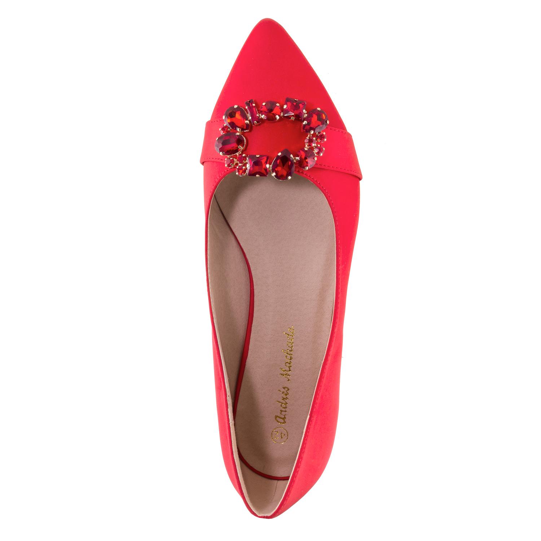 Bailarina Piedras Rojo