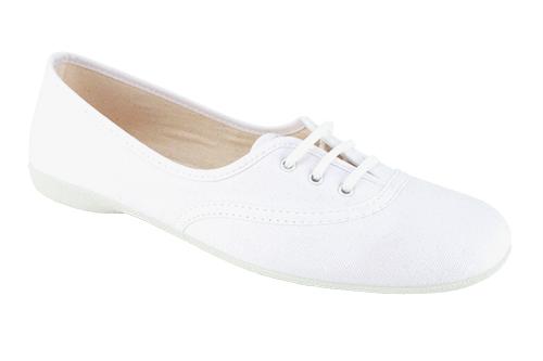 Baletanke na pertlanje, bele