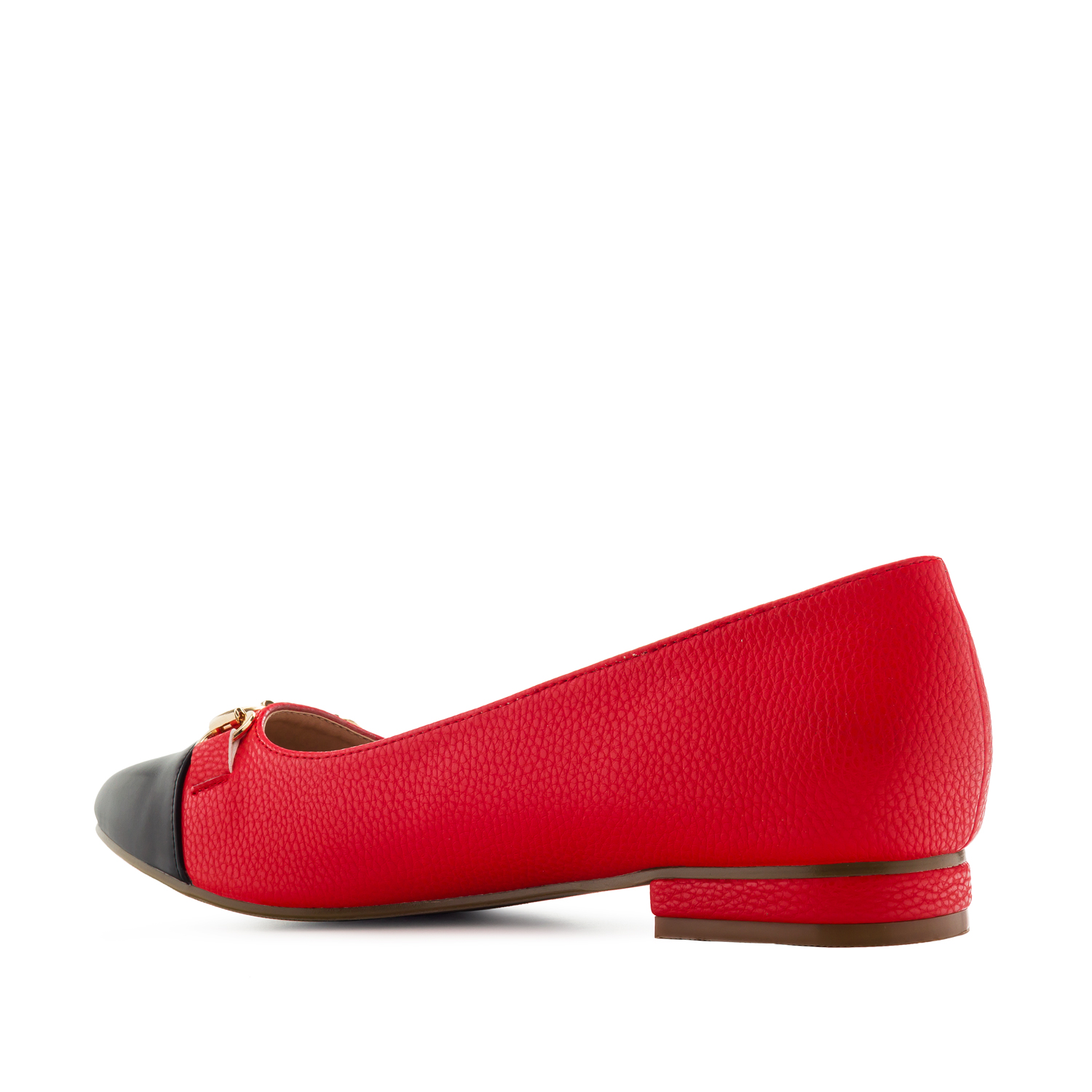 Ballerines Gravées Soft Rouge
