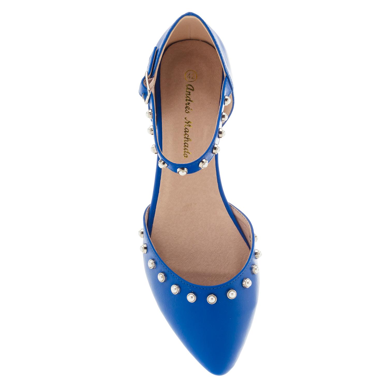 Bailarina Soft Azulón Perlas