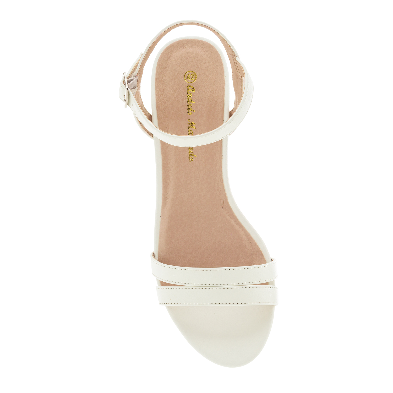 sandalen in soft wei neue neue damen kollektion damen. Black Bedroom Furniture Sets. Home Design Ideas