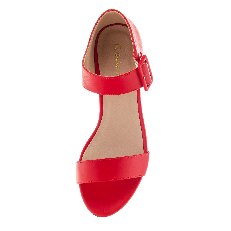 Sandalias en Soft Rojo