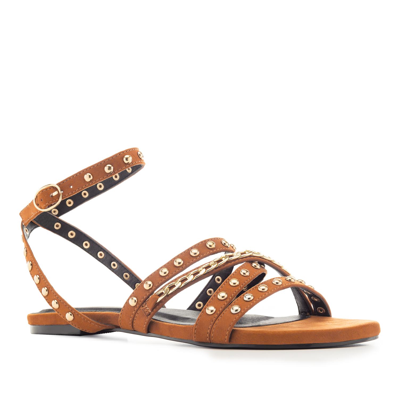 Antilop sandale sa nitnama i lancem, narandžaste