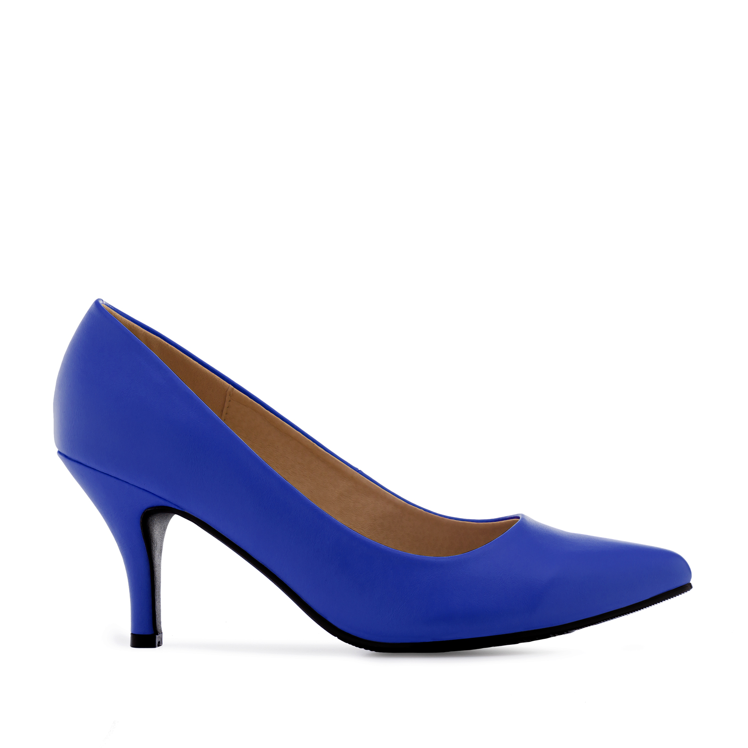 Klassische Pumps in Soft Blau