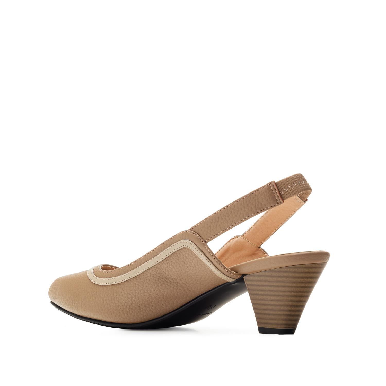 Loafer mit extra breitem Fußbett in Soft Braun