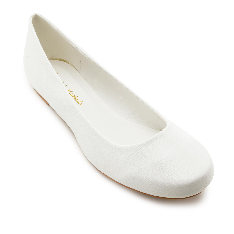 Klasične baletanke, bele sa šarom