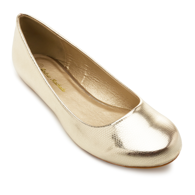 Bailarinas Clasicas Grabado Oro
