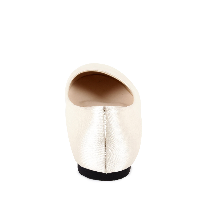 Bailarinas Clasicas de Saten Perla