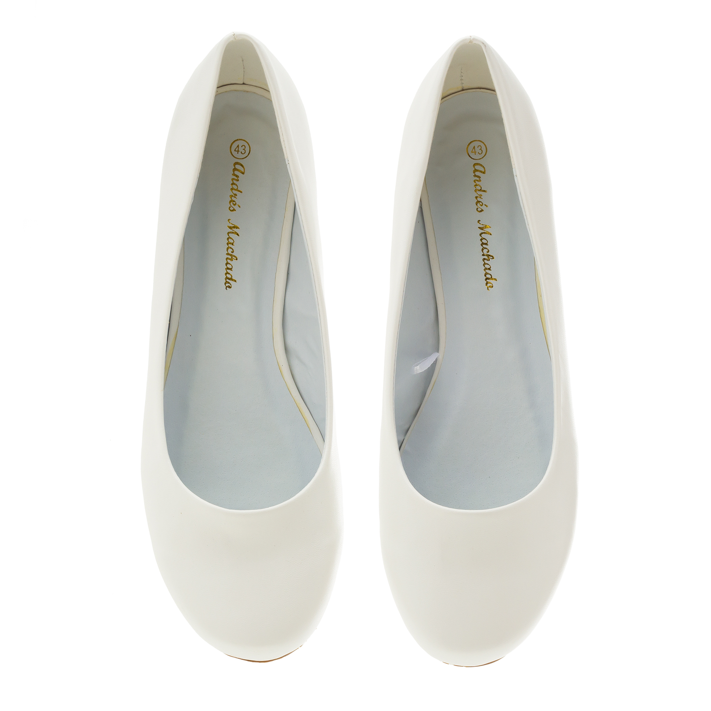 Bailarinas Clasicas en Soft Blanco