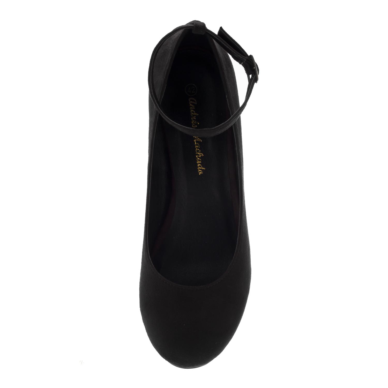 Chaussures en Suèdine Noir