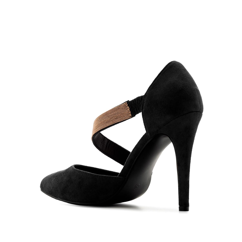 Zapato en Ante Negro