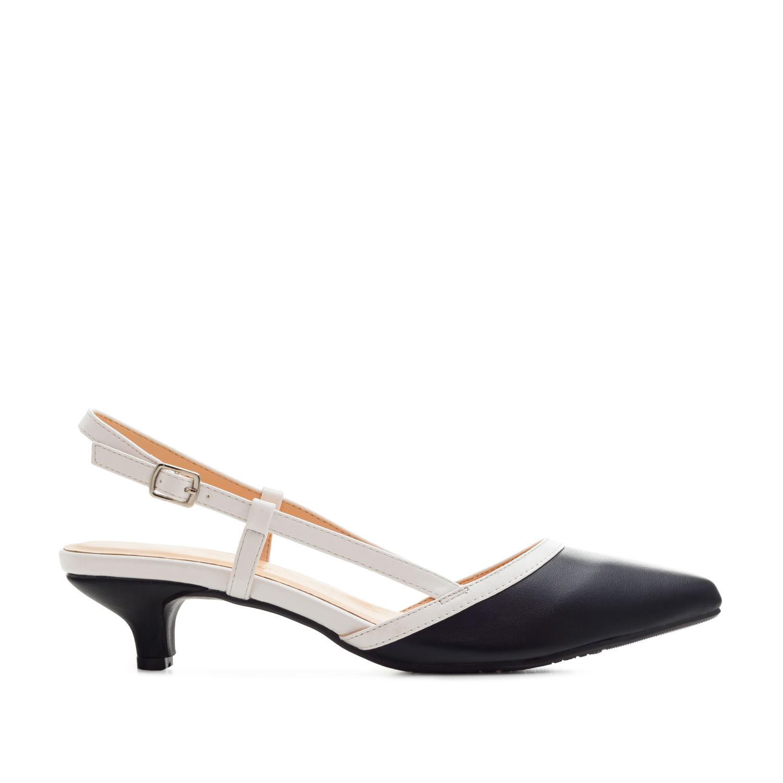 Zapato destalonado en Soft Negro