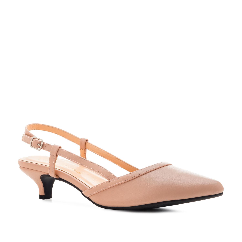 Zapato destalonado en Soft Rosa