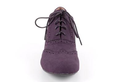 Cipele u Oxford stilu, ljubičaste