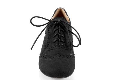 Cipele u Oxford stilu, crne